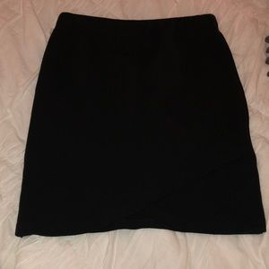 ARITZIA Black Mini Skirt